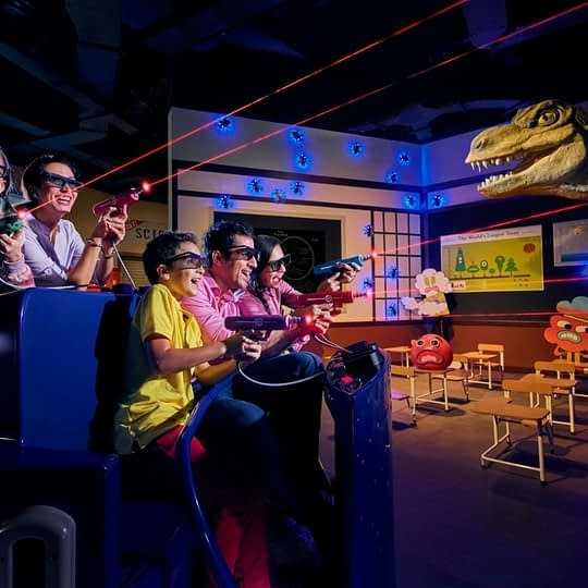 interactive dark ride
