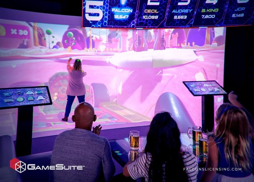 Falcon's GameSuite playsystem
