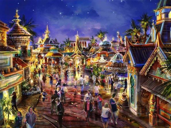 Master Planning Lotte World of Adventure