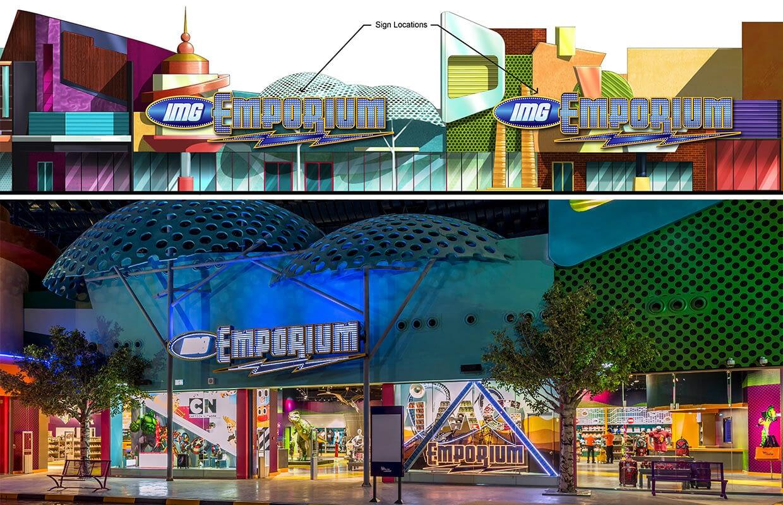 IMG Emporium Store Elevation