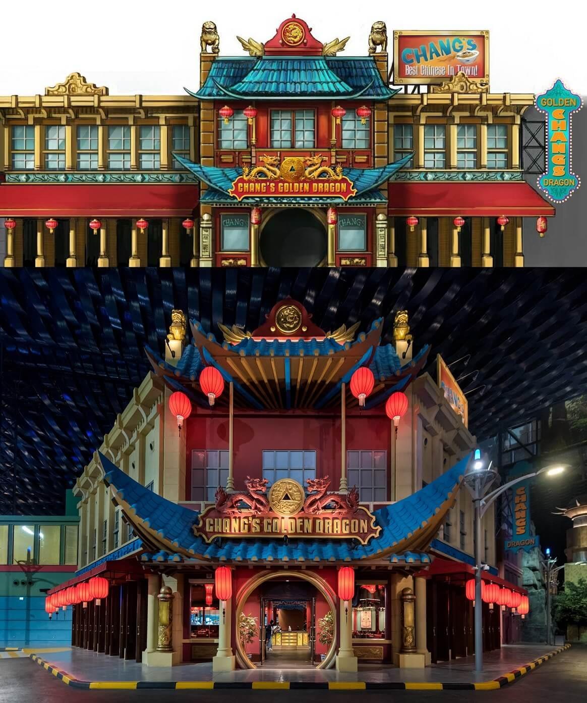 Chang's Golden Dragon Concept Design