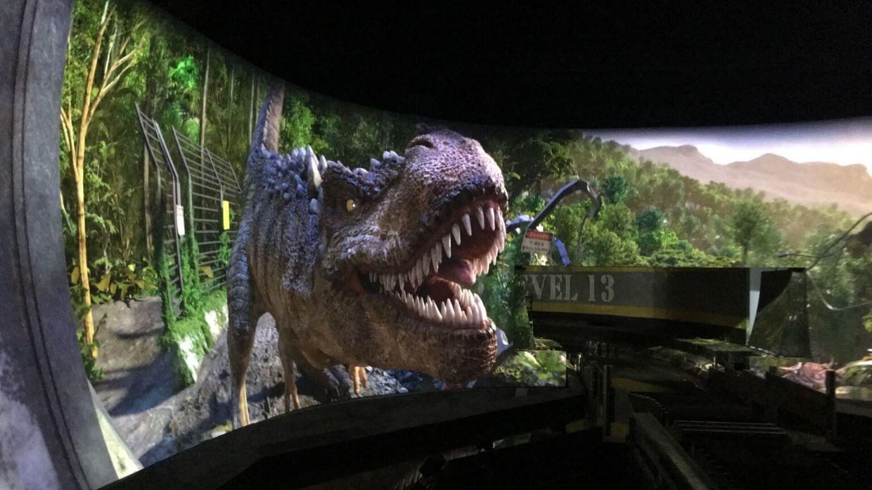 Jurassic Island Attraction at Trans Studio