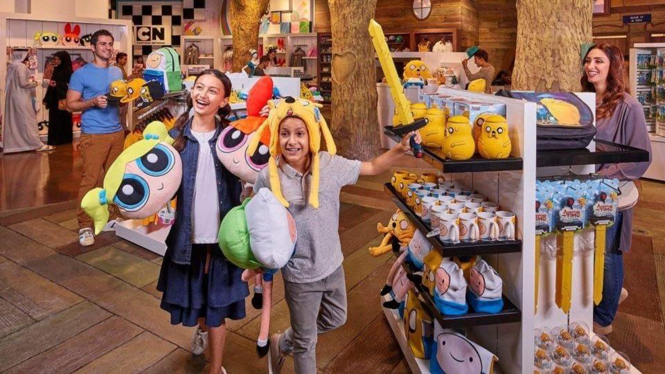 Cartoon Network themed retail