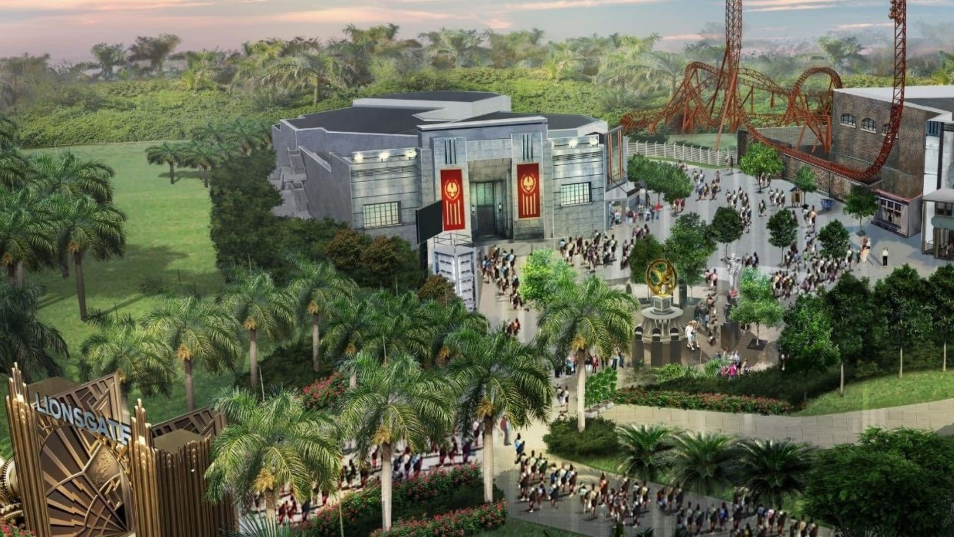 MOTIONGATE Dubai: Lionsgate Zone Master Plan