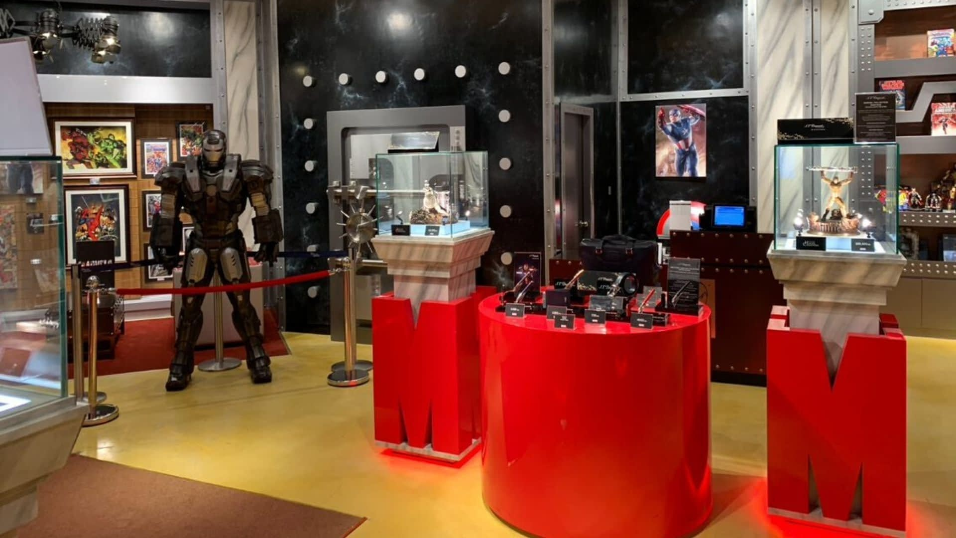 Marvel Themed Retail