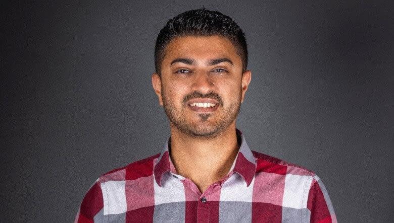 Saham Ali of Falcon's Creative Group