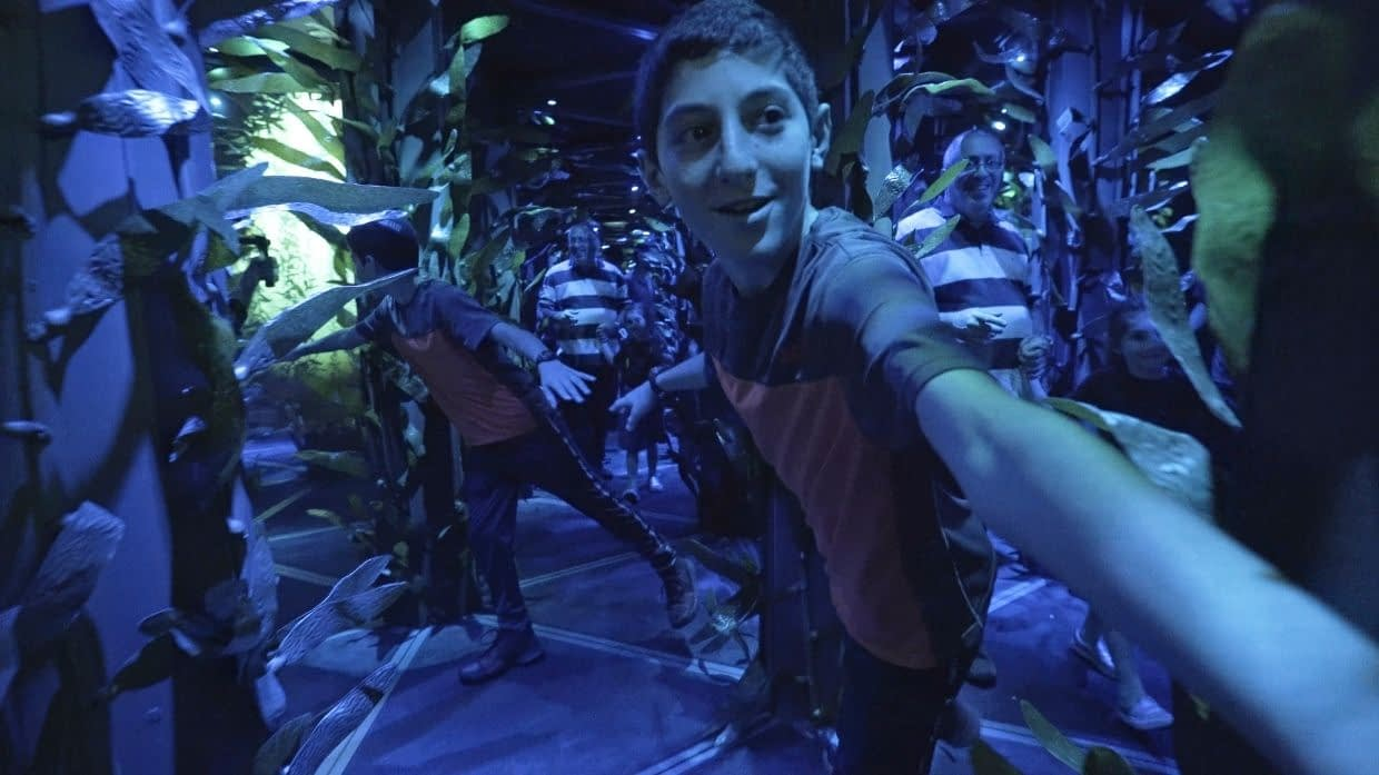 National Geographic Encounter Mirror Maze