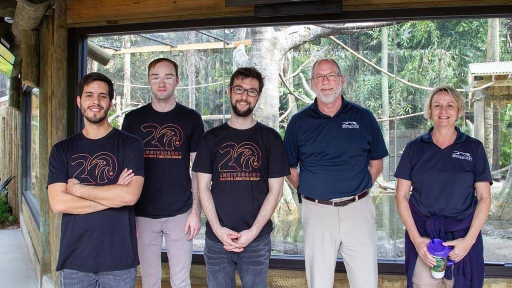 Brevard Zoo AR team