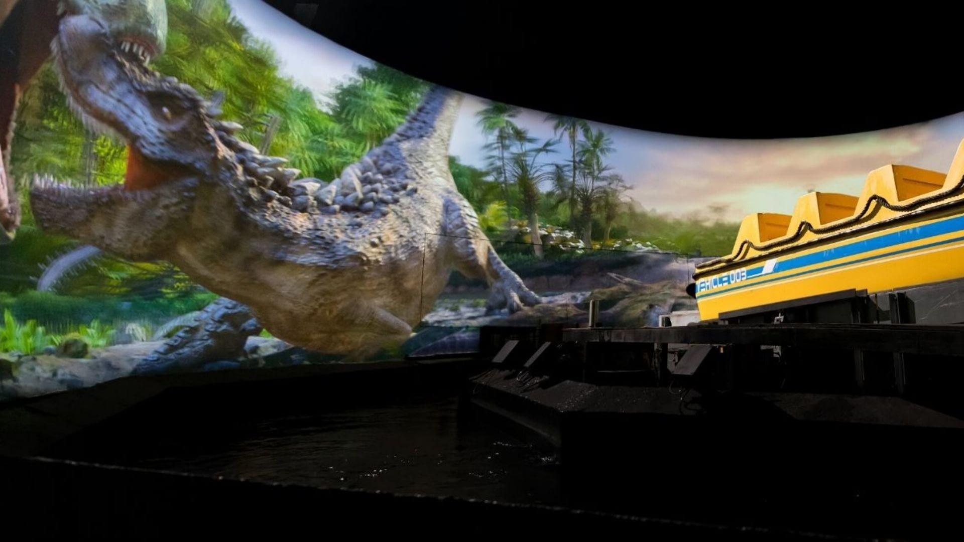 Jurassic Island Theme Park Ride