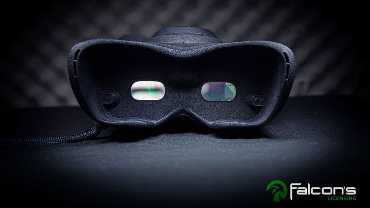 Falcons Vision Augmented Reality Headset