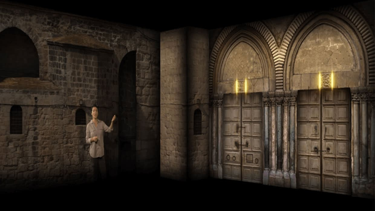 Tomb Of Christ Nat Geo Projection Mapping