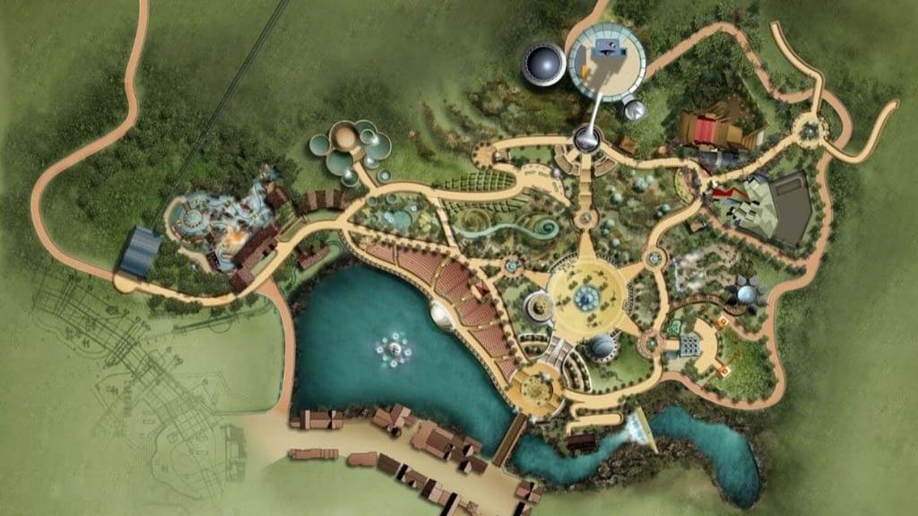 OCT Theme Park master plan