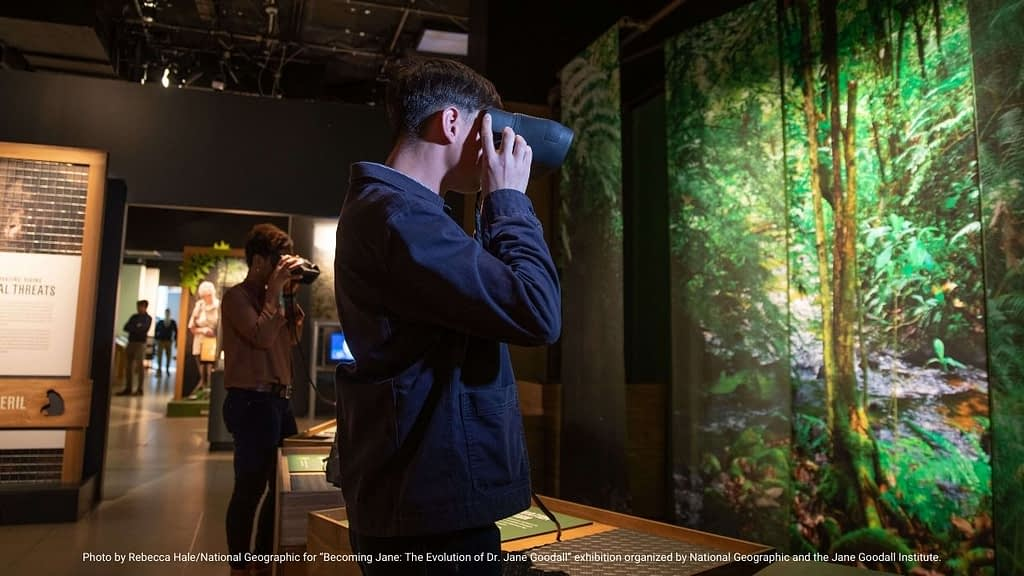 National Geographic Museum AR Experience